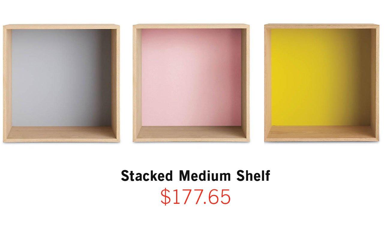 Stacked Medium Shelf