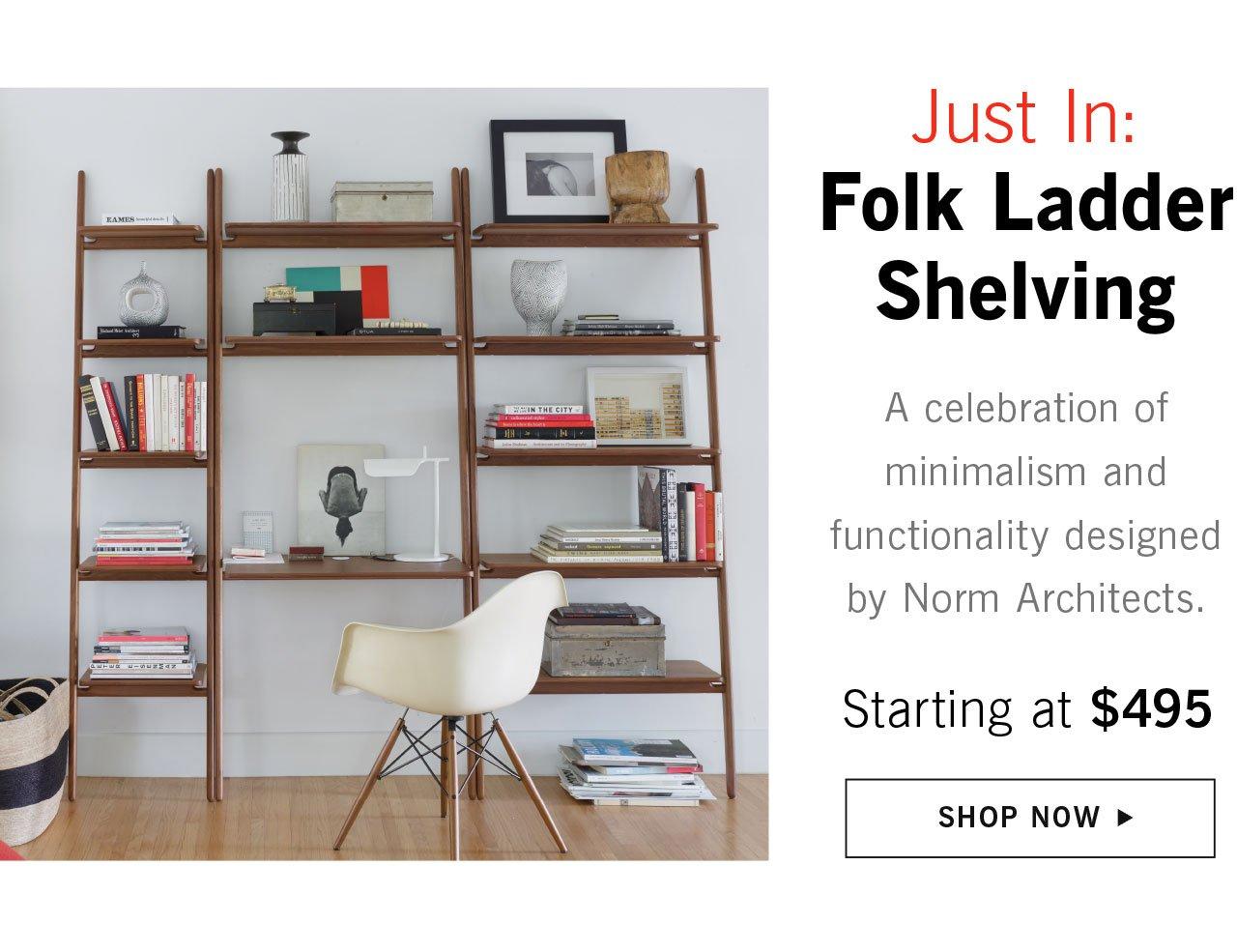 Shop Folk Ladder Storage Collection