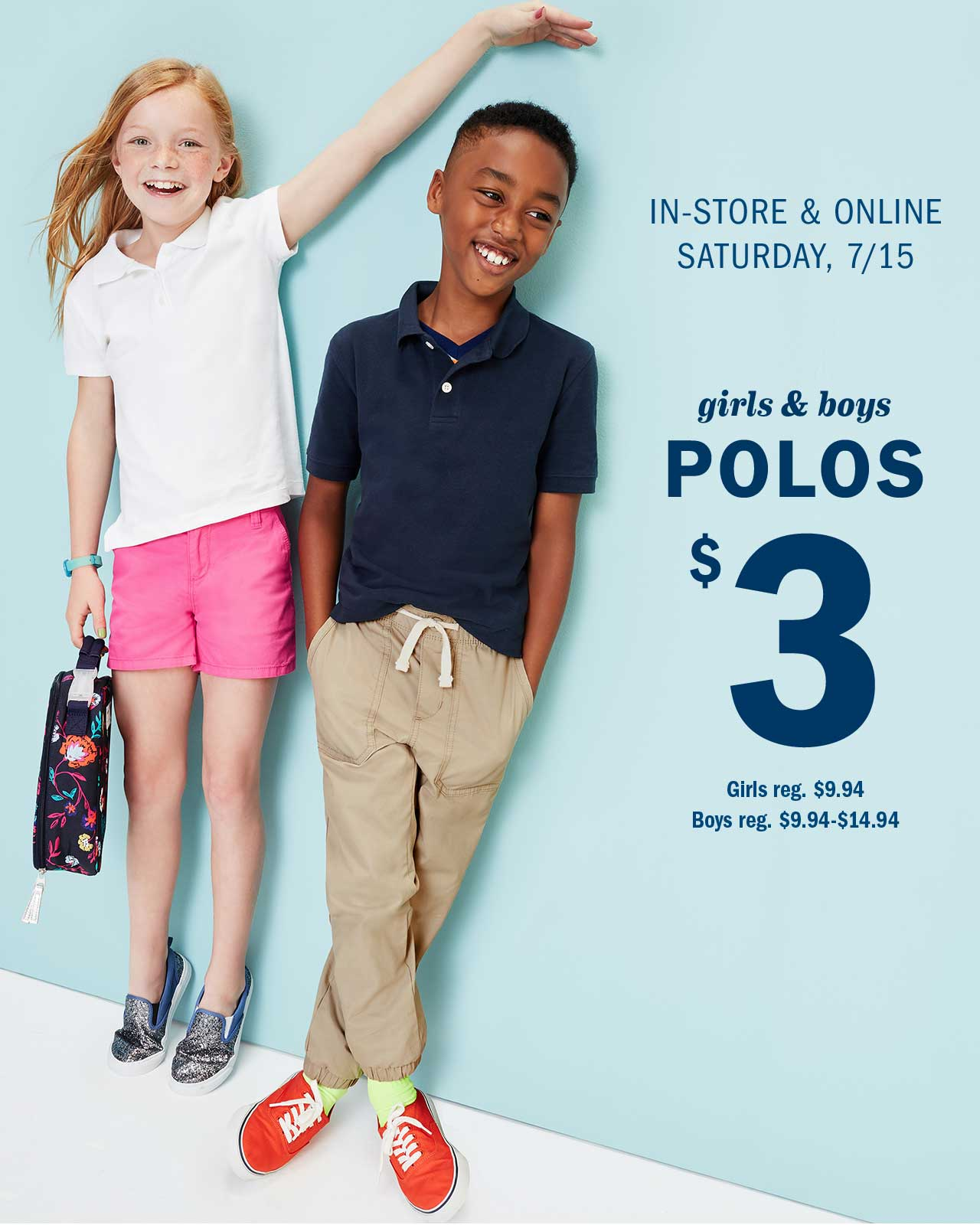 Old Navy: 😏 Announcement: We're offering you $3 POLOS! | Milled