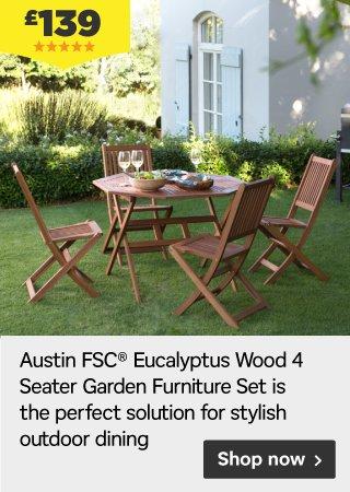 Homebase perfect solutions for outdoor dining flooring for Garden decking tiles homebase