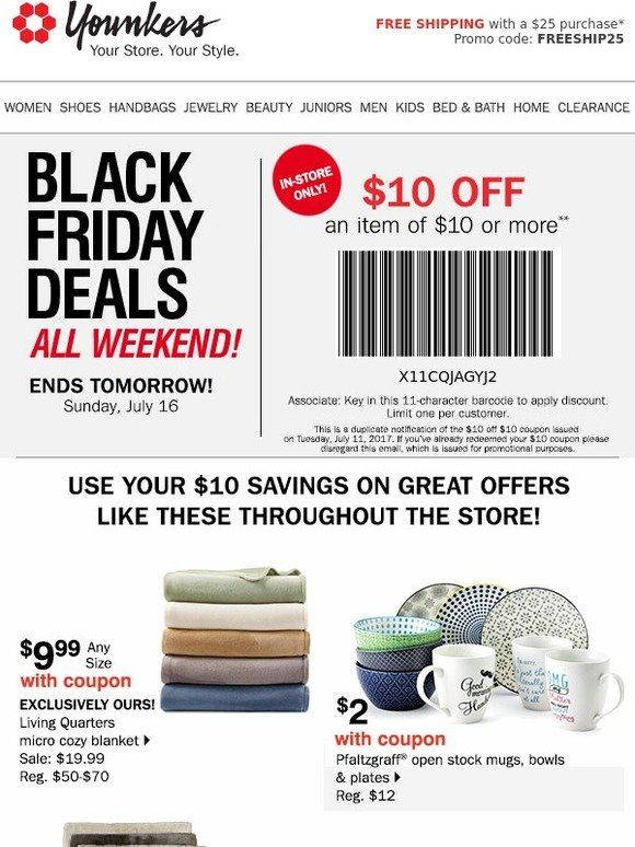 Younkers coupon black friday