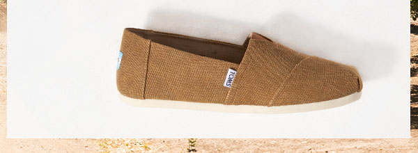 Toffee Washed Canvas Men's Classics