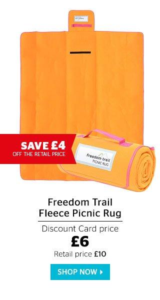 Freedom Trail Fleece Picnic Rug