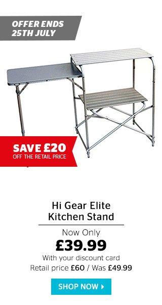Hi Gear Elite Kitchen Stand