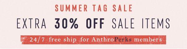 Shop tag sale.