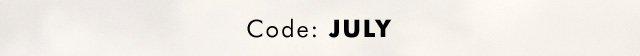 Code: JULY