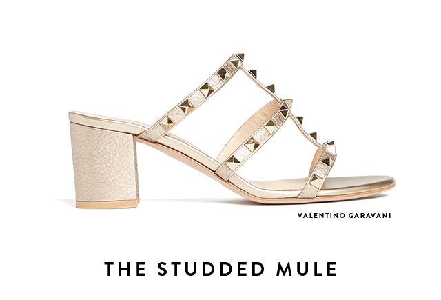 The Studded Mule - VALENTINO GARAVANI