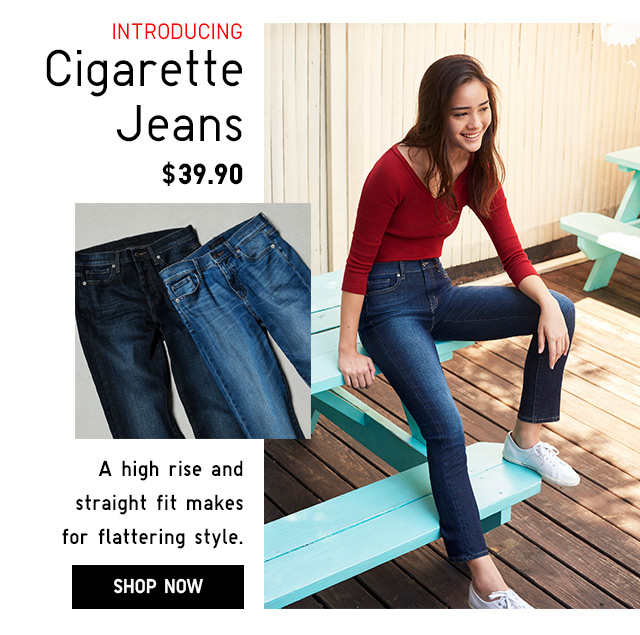 Introducing Cigarette Jeans -- SHOP NOW