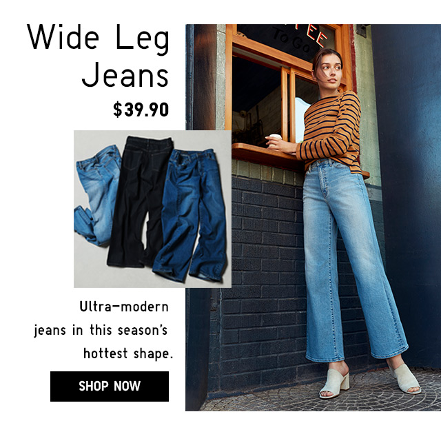 Women's Wide Leg Jeans -- SHOP NOW