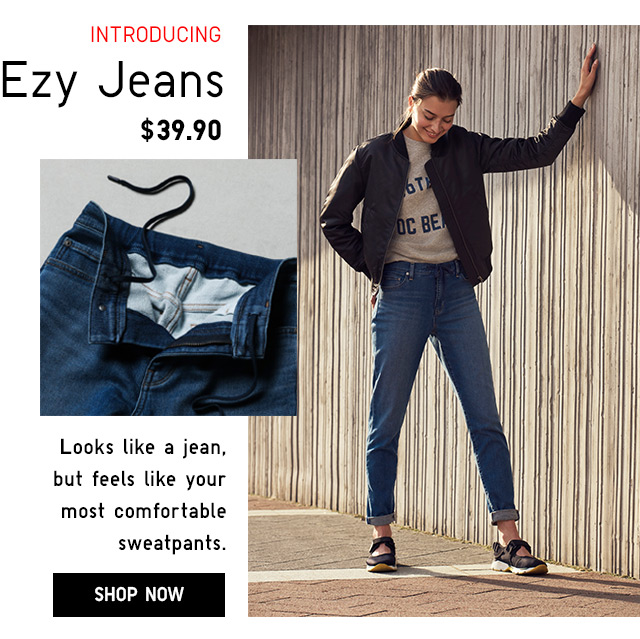 Introducing Women's EZY Jeans -- SHOP NOW
