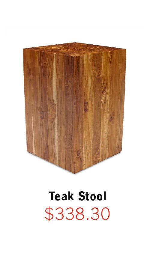 Shop Teak Stool
