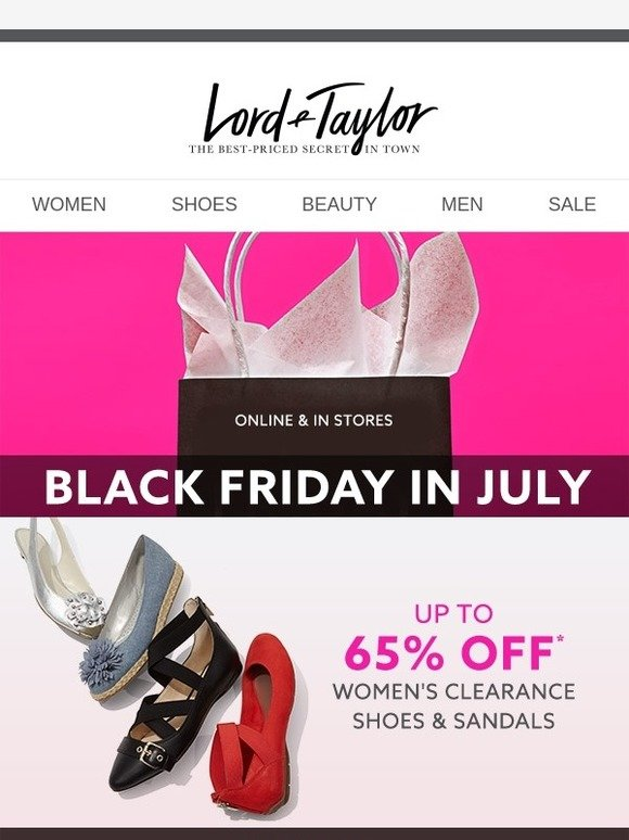 Lord \u0026 Taylor: Up to 65% OFF CLEARANCE