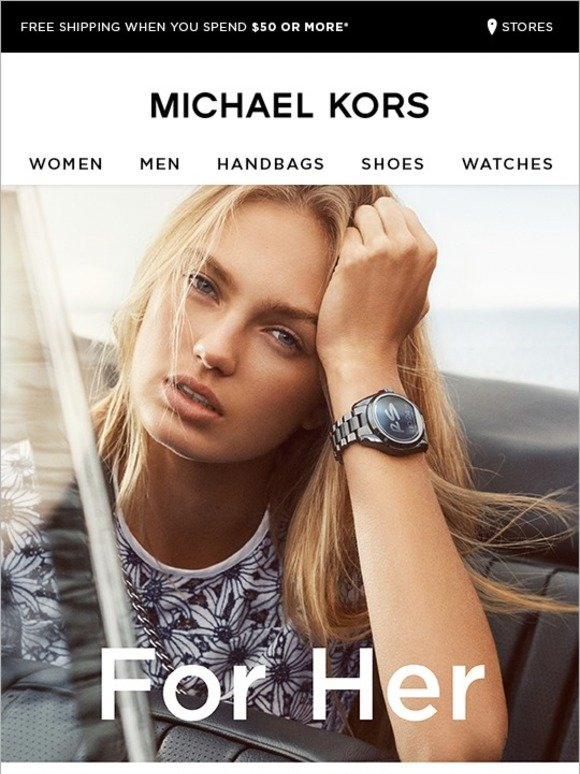 Michael Kors Is It Time For A Change Milled