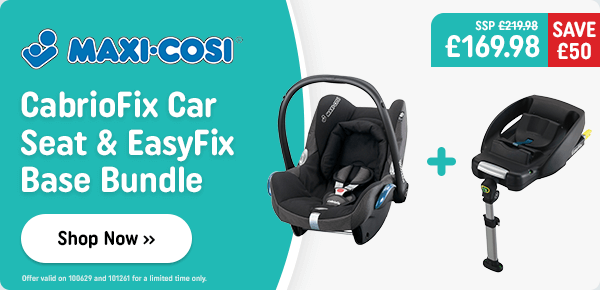 Maxi Cosi CabrioFix Group 0+ Car Seat and EasyFix Base Bundle