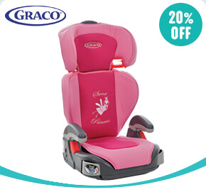 Graco Junior Maxi Group 2-3 Car Seat Princess Pink