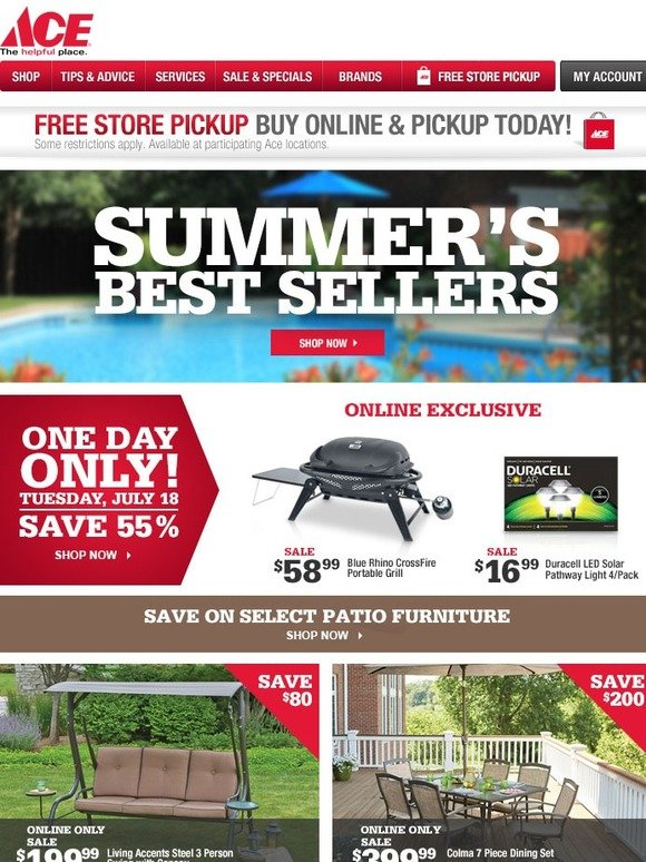 Ace Hardware: Summeru0027s Hottest Products | Milled