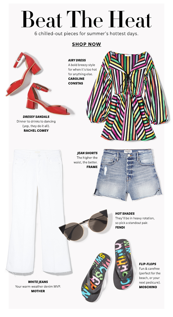 6 chilled-out pieces for summer's hottest days.