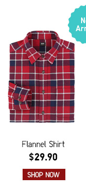 Men's Flannel Shirt $29.90 -- Shop Now