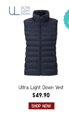 Women's Ultra Down Vest $49.90-- Shop now