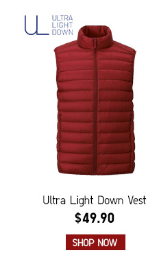 Men's Ultra Down Vest $49.90-- Shop now