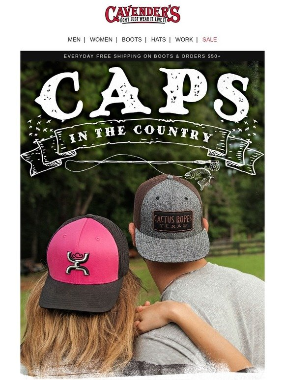 Cavender s   7 Ways To Wear Caps In The Country  a099c9f4f72