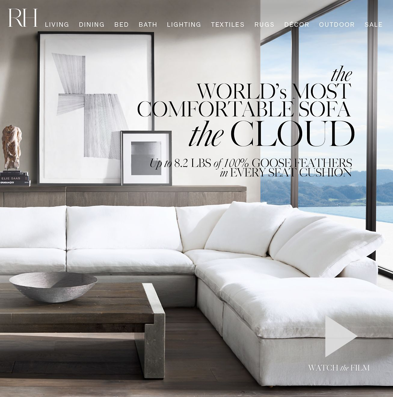 Restoration Hardware The Cloud World S Most