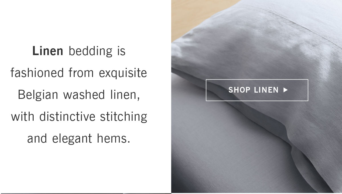 Shop Linen Bedding