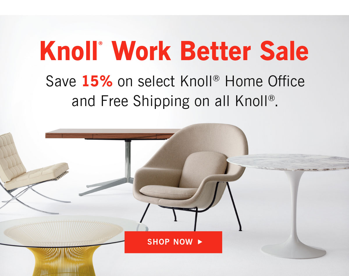 Knoll Work Better Sale