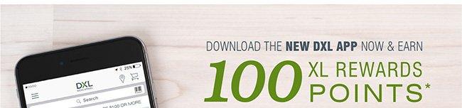 fc1aa1790f Destination XL  Get the NEW DXL APP NOW - and Earn 100 XL Rewards ...