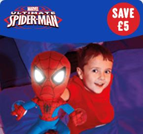 Marvel Ultimate Spider-Man Go Glow Pal