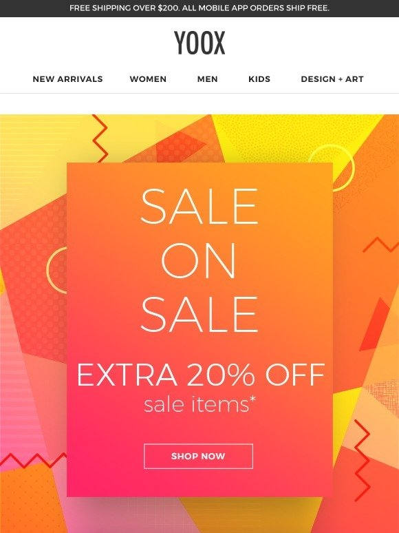 Yoox Sale On Sale Extra 20 Off A Special Selection Milled