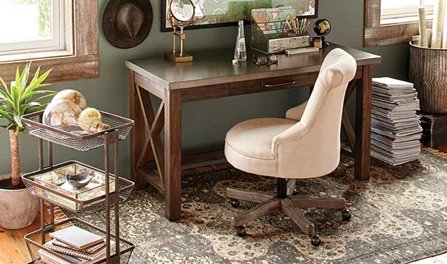 Farmhouse Desk Elsie Office Chair