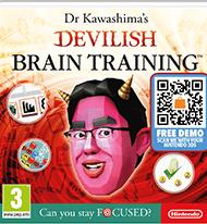 Dr Kawashima's Devilish Brain Training 3DS