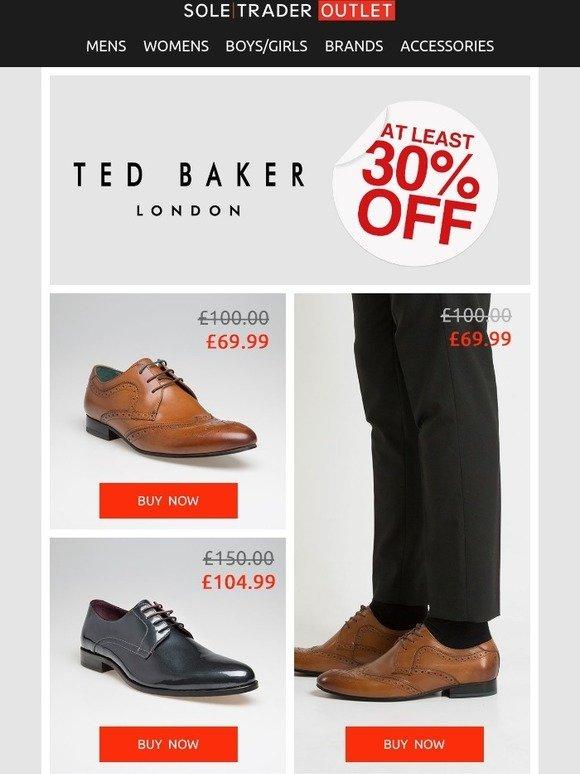 1d94f5343d26 Soletrader Outlet  Top Ted Baker Deals