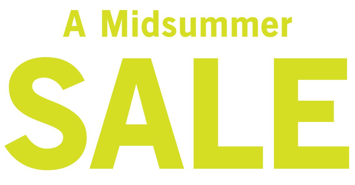 A Midsummer Sale