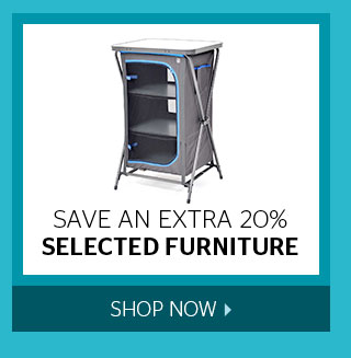 Save an extra 20% Selected Furniture