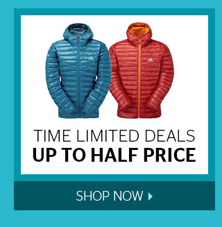 Time Limited Deals up to Half Price