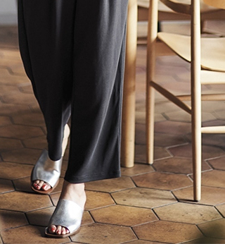 Drape Wide-Leg Pants -- $39.90