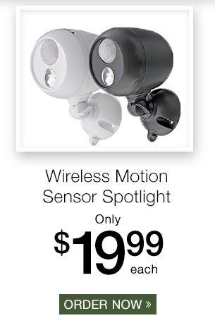 MrBeams? Wireless Motion Sensor Spotlight