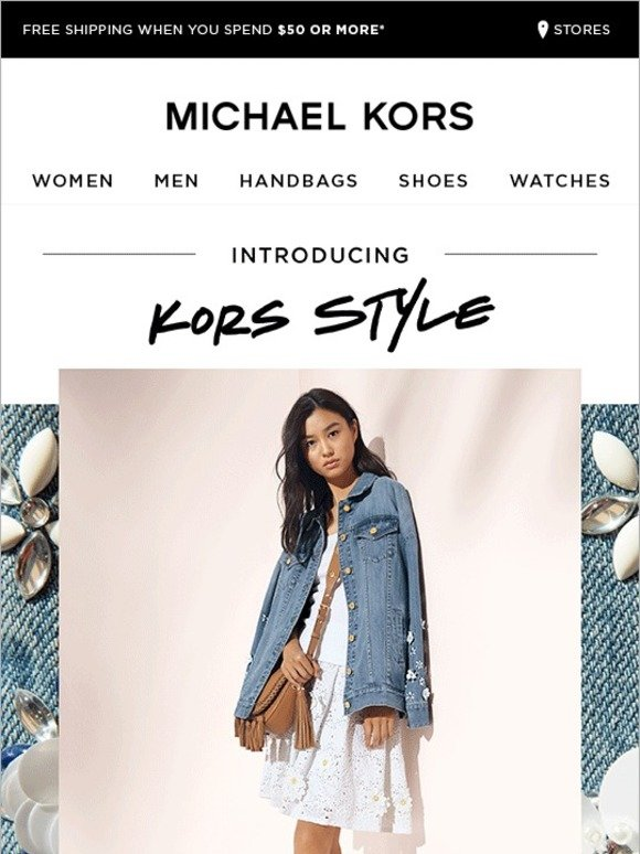 Michael Kors Kors Style From Cute To Cool Milled