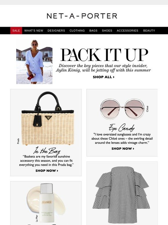 Net-A-Porter Black Friday Sales. Here's what we found last year: With all the festive parties and family photo ops, you want to look your best during the holidays. And thankfully, NET-A-PORTER had all kinds of amazing deals to keep shoppers looking their best. Trendsetters could enjoy free delivery promos, Christmas list-crossing prices and more.