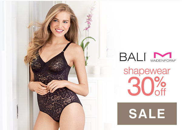 Shop Bali & Maidenform Shapewear