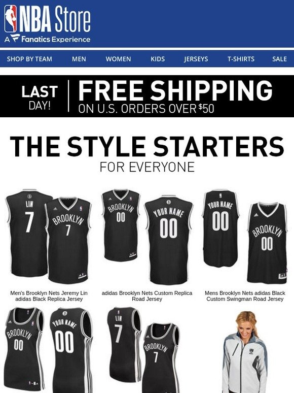 fc7b8e5265a NBA Store  LAST CHANCE  Free Shipping Ends Tonight!
