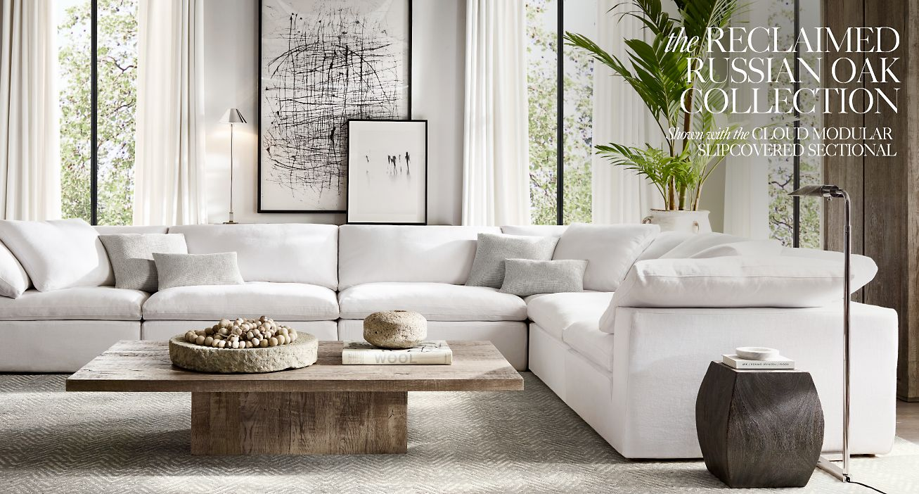 Restoration Hardware The Reclaimed Russian Oak Collection