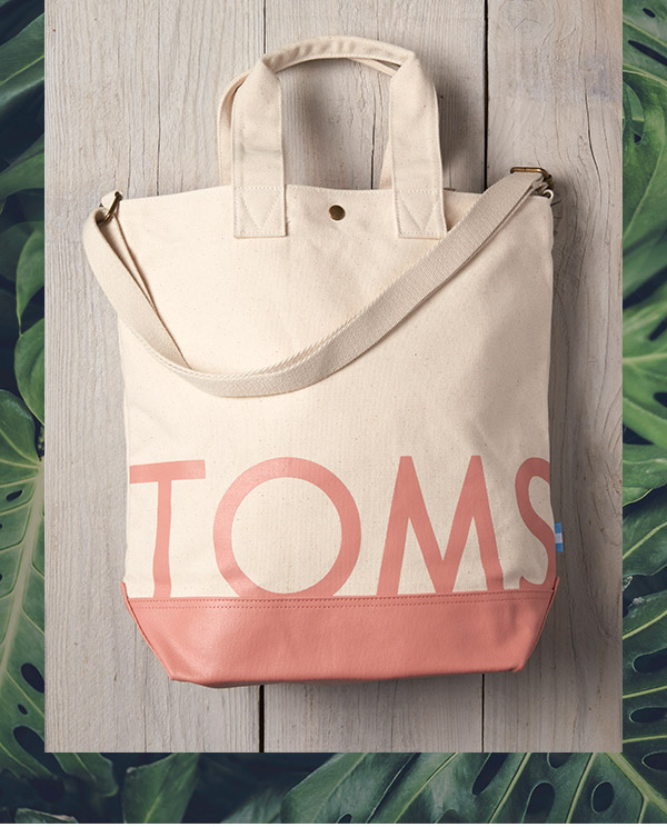 Natural Canyon Clay TOMS Compass Tote
