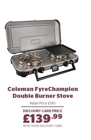 Coleman FyreChampion Double Burner