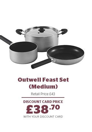 Outwell Feast Set