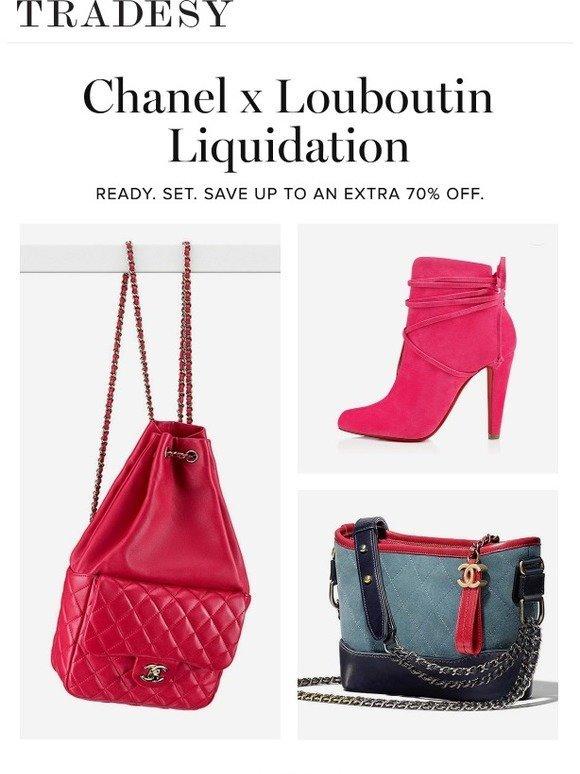 d3506e03f9b1 Tradesy  Chanel x Louboutin Liquidation