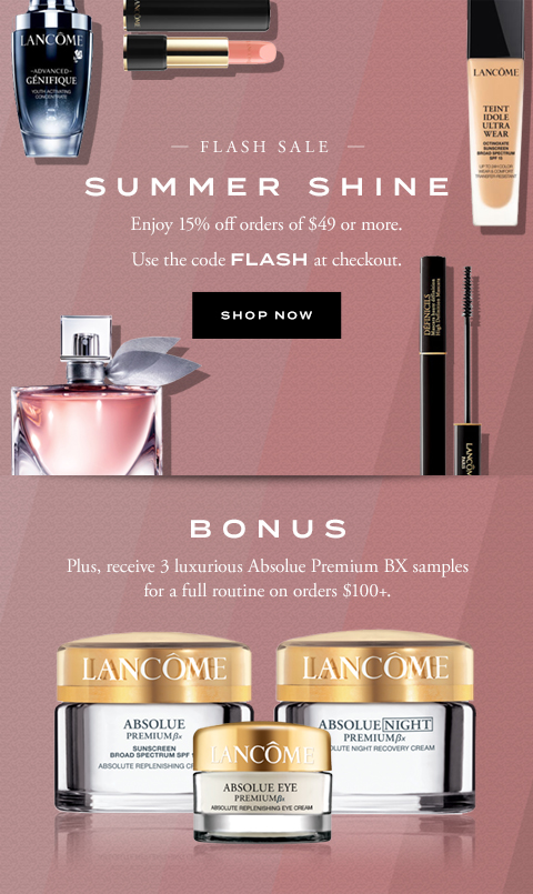 SUMMER SHINE - SHOP NOW