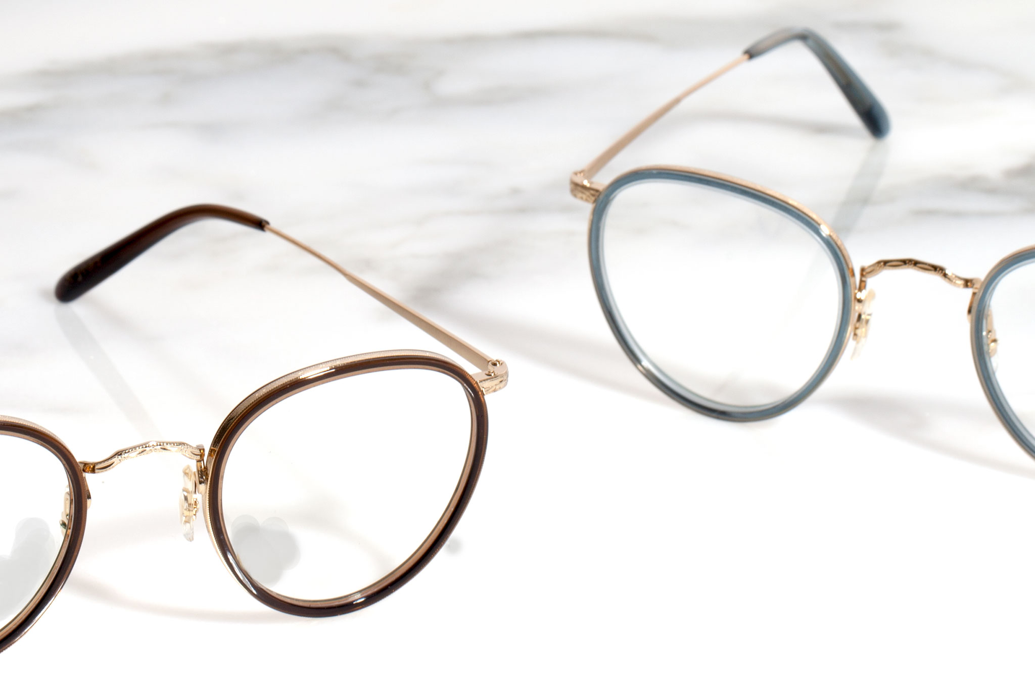 Oliver Peoples Eyewear: Frames With A Touch Of Gold | Milled
